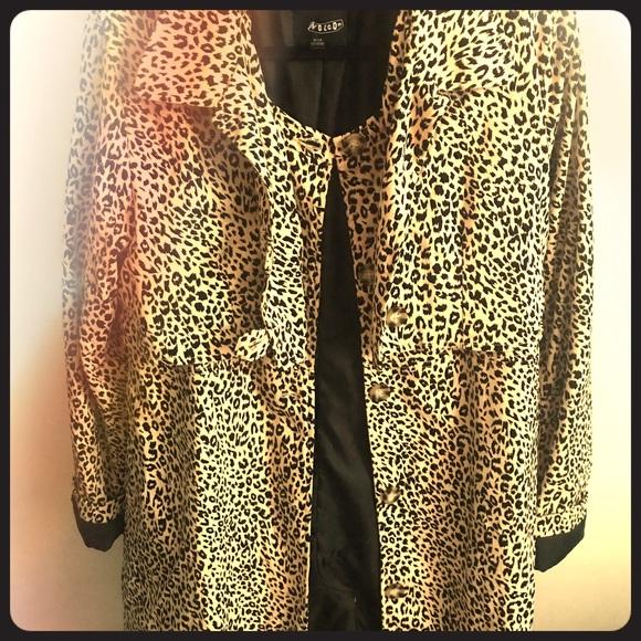 Volcom Jackets & Blazers - Leopard coat